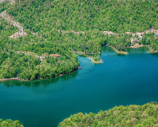 Lone Mountain Shores Building Sites for Sale on Norris Lake